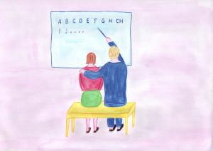 12 Se svým učitelem